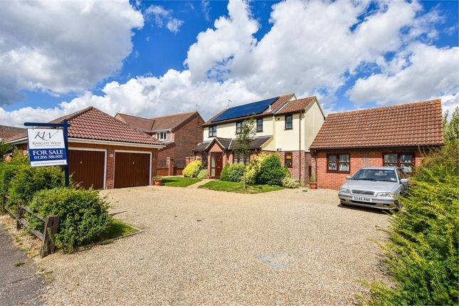 Thumbnail Detached house for sale in Eastwood Drive, Highwoods, Colchester, Essex