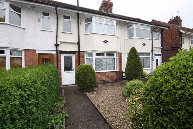 Thumbnail Terraced house to rent in East Ella Drive, Anlaby Road, Hull
