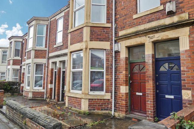 Thumbnail Flat for sale in Warton Terrace, Heaton, Newcastle Upon Tyne