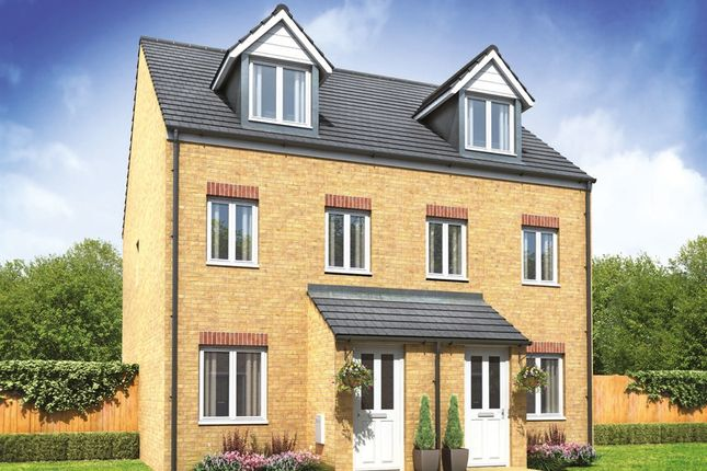 """Thumbnail End terrace house for sale in """"The Souter"""" at Lundhill Road, Wombwell, Barnsley"""