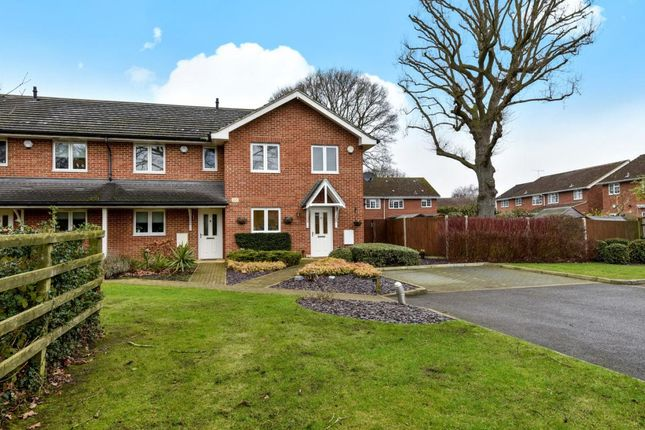 Thumbnail End terrace house for sale in Frimley Green, Camberley
