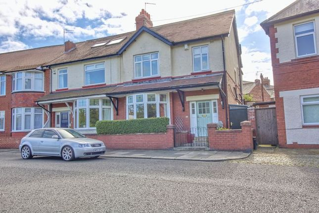 Thumbnail End terrace house for sale in Lodore Road, Newcastle Upon Tyne