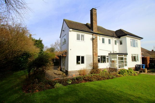 Thumbnail Detached house for sale in Cherry Tree Lane, Edwalton, Nottingham