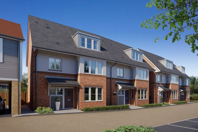 Thumbnail Town house for sale in Main Road, Broomfield Village, Chelmsford