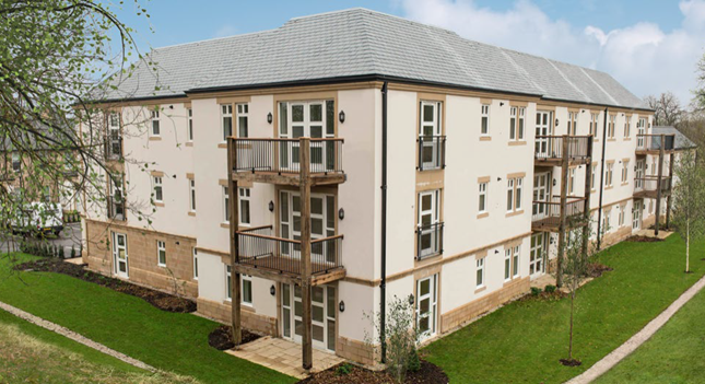 Thumbnail Flat for sale in 12 Devonshire Court, Darley Dale