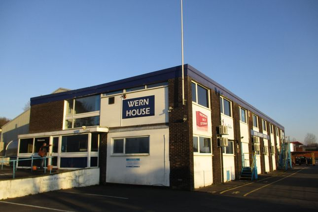 Thumbnail Office to let in Wern Industrial Estate, Rogerstone, Newport