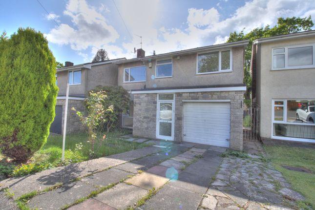 Thumbnail Detached house for sale in Clos Brynderi, Rhiwbina, Cardiff