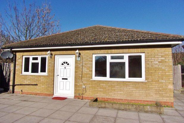 Thumbnail Detached bungalow to rent in Penge Road, London