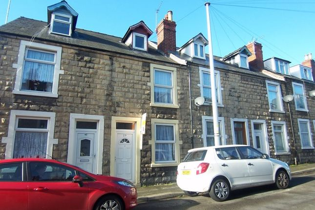 Thumbnail Terraced house to rent in Charles Street, Mansfield Woodhouse, Mansfield, Nottinghamshire