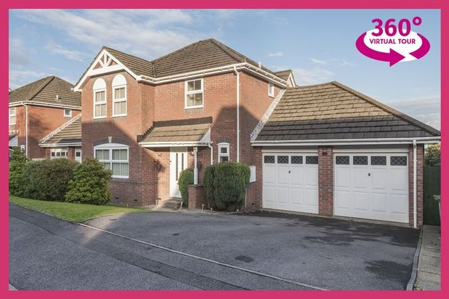 Thumbnail Property for sale in Hawkes Ridge, Ty Canol, Cwmbran