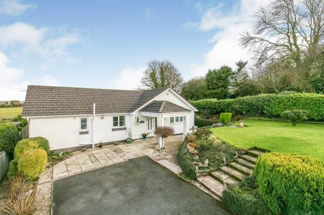 Thumbnail Bungalow for sale in Carmel Hill, Carmel, Holywell, Flintshire