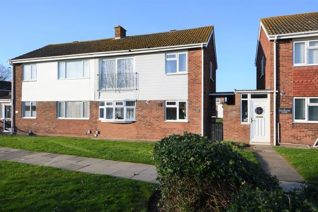 Thumbnail Semi-detached house for sale in Chichester Close, Gosport