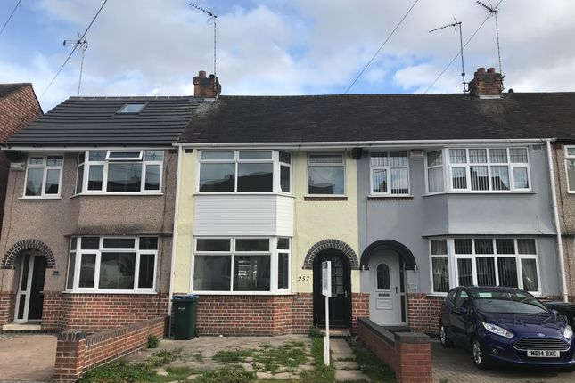 Thumbnail Terraced house to rent in Tennyson Road, Coventry