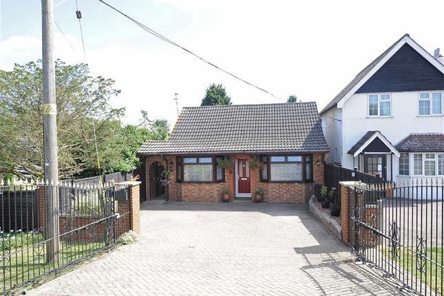 Thumbnail Detached bungalow for sale in Wollaston Road, Irchester, Wellingborough
