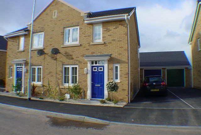Thumbnail Semi-detached house to rent in Schooner Avenue, Newport