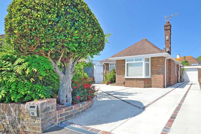 Thumbnail Bungalow for sale in Sandown Close, Goring By Sea, Worthing, West Sussex