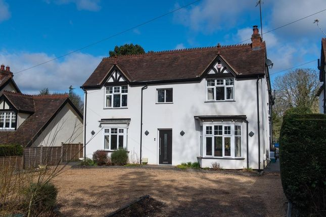 Thumbnail Detached house for sale in Chessetts Wood Road, Lapworth, Solihull, Warwickshire B94.