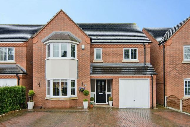 Thumbnail Detached house for sale in Eaton Croft, Rugeley