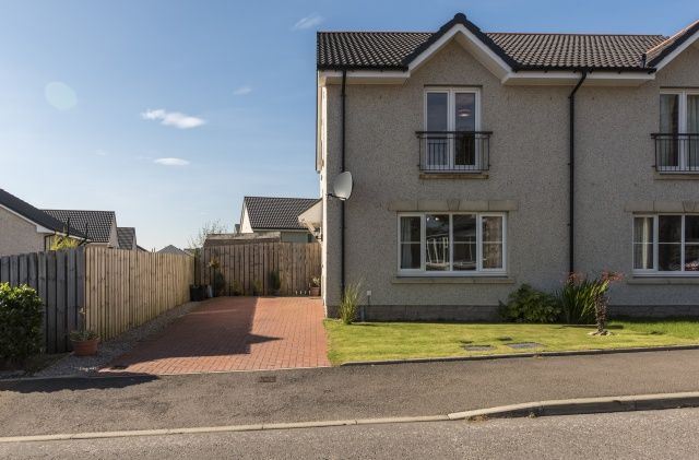 Thumbnail Semi-detached house for sale in Schoolhill Road, Portlethen, Aberdeen, Aberdeenshire