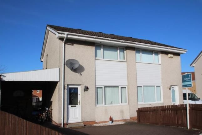 Thumbnail Semi-detached house for sale in St. Leonards Walk, Coatbridge, North Lanarkshire