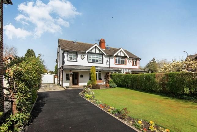 Thumbnail Semi-detached house for sale in Park Road, Timperley, Altrincham, Greater Manchester