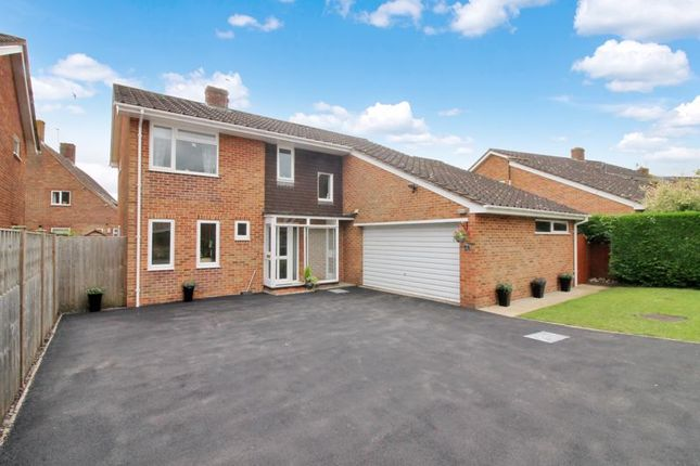 Thumbnail Detached house for sale in Warren Drive, Abbotts Ann, Andover