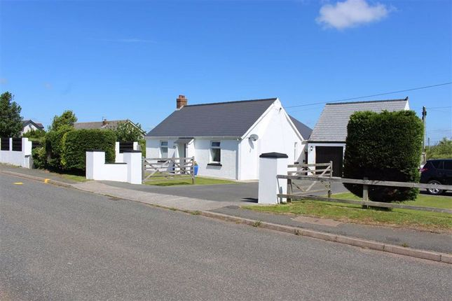 Thumbnail Detached bungalow for sale in Guilderoy Road, Hundleton, Pembroke