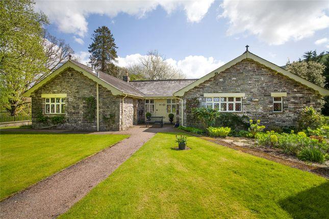 Thumbnail Detached house for sale in Llyswen, Brecon, Powys