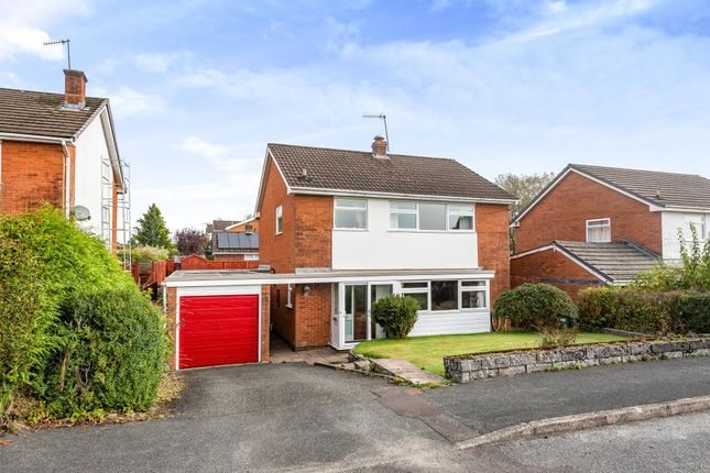 Thumbnail Detached house for sale in Pentrosfa Road, Llandrindod Wells, Powys