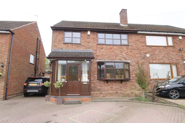 3 bed semi-detached house to rent in Brookwillow Road, Hasbury, Halesowen B63