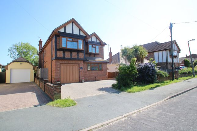 Thumbnail Detached house for sale in York Road, Ashingdon, Rochford