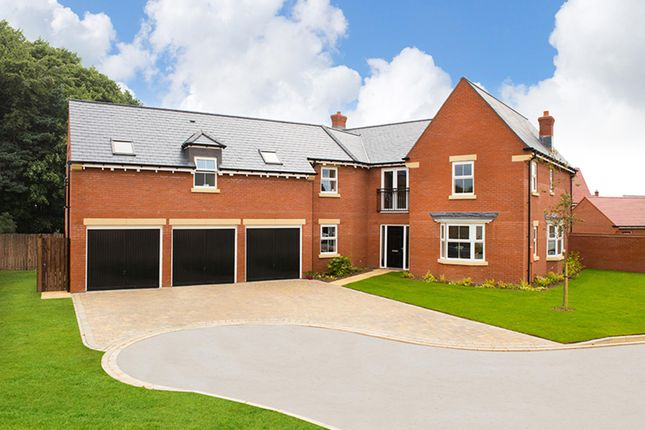 "Thumbnail Detached house for sale in ""Harvington"" at Ellerbeck Avenue, Nunthorpe, Middlesbrough"
