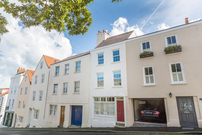 Thumbnail Terraced house to rent in Cornet Street, St. Peter Port, Guernsey