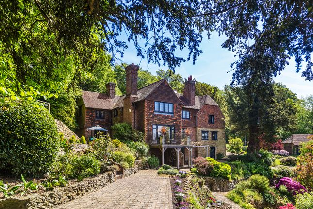 Thumbnail Detached house for sale in Trevereux Hill, Limpsfield Chart, Oxted