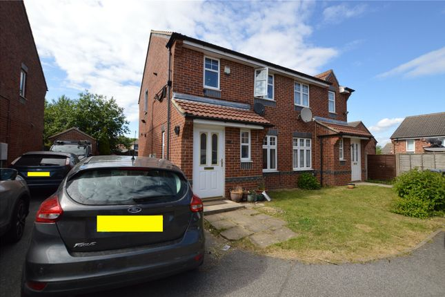 Thumbnail Semi-detached house for sale in The Canter, Middleton, Leeds, West Yorkshire
