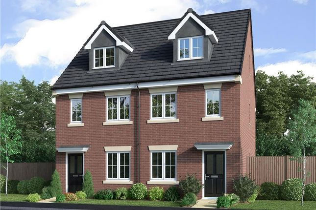 """3 bed semi-detached house for sale in """"The Masterton"""" at Stannington Road, North Shields NE29"""