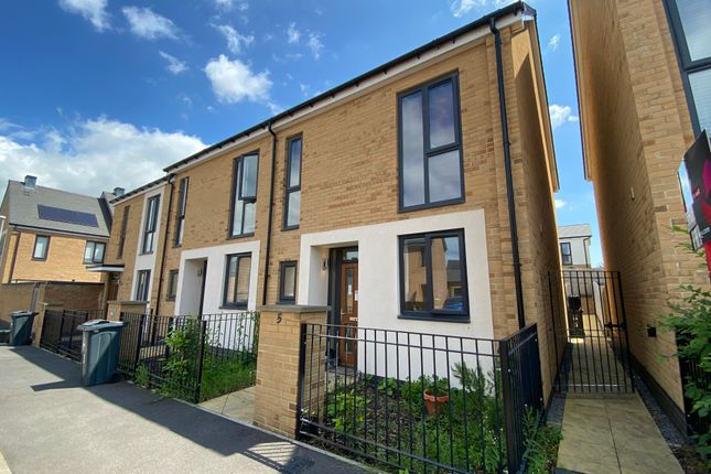 Thumbnail End terrace house for sale in Scarf Drive, Locking, Weston Super Mare