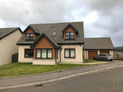 Thumbnail Detached house to rent in 21 Irvinemuir Park, Drumoak, Banchory