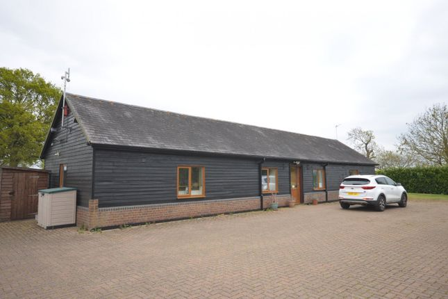 Thumbnail Detached bungalow to rent in Upper Wingbury Farm, Wingrave