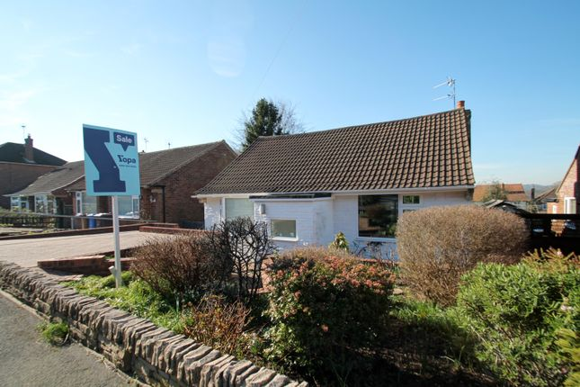 Thumbnail Bungalow for sale in Crabtree Close, Allestree, Derby