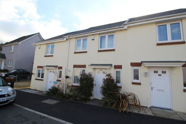 Thumbnail Terraced house to rent in Bridge View, Plymouth