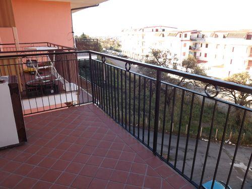 Balcony of Piano Lettieri, Scalea, Calabria, Italy