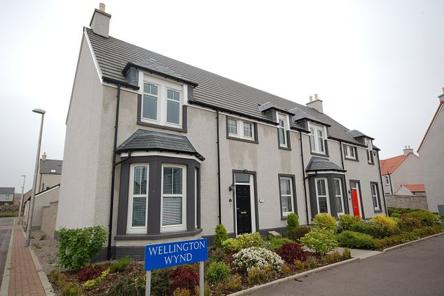 Thumbnail End terrace house to rent in Wellington Terrace, Cove, Aberdeen
