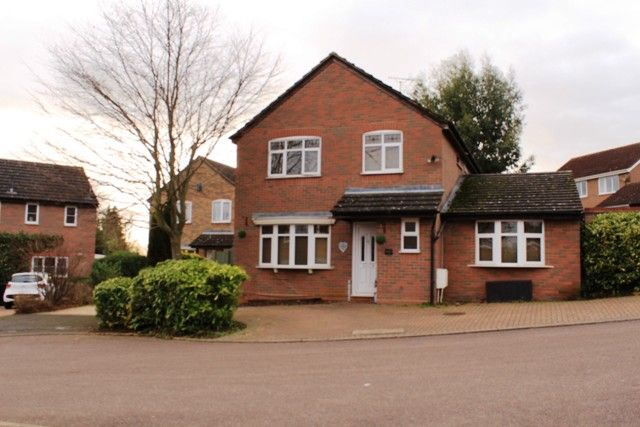 Thumbnail Detached house for sale in Whitworth Way, Irthlingborough