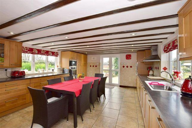 Thumbnail Detached house for sale in Ridge Row, Acrise, Folkestone, Kent