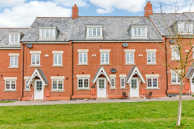 Thumbnail Terraced house for sale in Hawfinch Green, Kettering, Northamptonshire