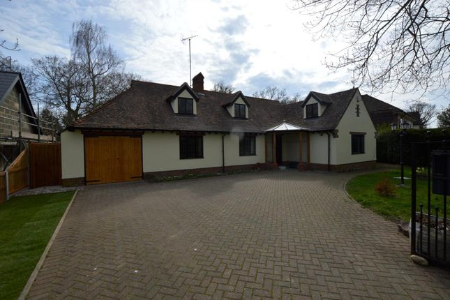 Thumbnail Detached bungalow for sale in Welshwood Park Road, Colchester