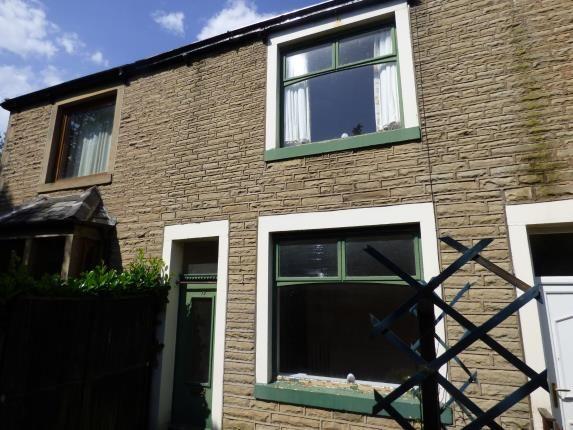 Front of King Street Terrace, Brierfield, Nelson, Lancashire BB9