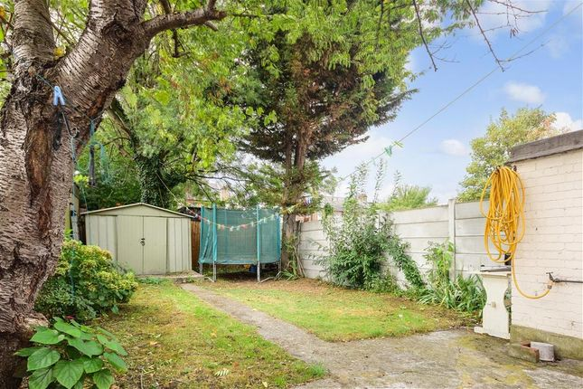 Thumbnail End terrace house for sale in Lawrence Avenue, Manor Park, London