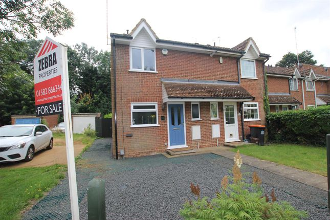Thumbnail End terrace house for sale in Cemetery Road, Houghton Regis, Dunstable